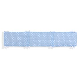 Protector Chichonera Reversible Star Azul -  mibebestore
