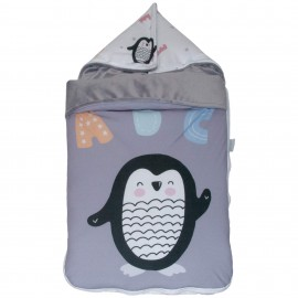Saco Entretiempo Cuco Capucha mibebestore-modelo  Penguin