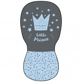 Colchoneta Silla  Paseo Universal Transpirable  Modelo Little Crown Azul