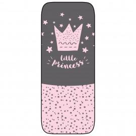 Colchoneta Silla Ligera Paseo Transpirable Modelo Little crown rosa