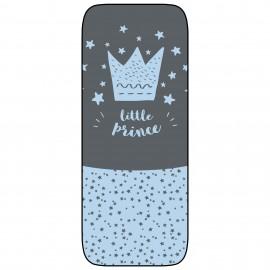 Colchoneta Silla Ligera PaseoTranspirable Modelo Little crown azul