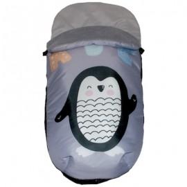 Saco Polar Universal Impermeable - mibebestore Modelo Penguin