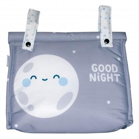 Talega Impermeable Mibebestore-Modelo Hello Moon