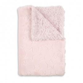 Manta Estrella caracolas Rosa- mibebestore