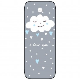 Colchoneta Silla Ligera Paseol Transpirable Modelo Nuvola azul