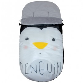 Saco Polar Universal Impermeable - mibebestore Modelo Pinguino