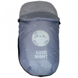 Saco Polar Universal Impermeable - mibebestore Modelo Good night rosa
