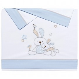 Sabanitas 100% Algodón Modelo Bunny