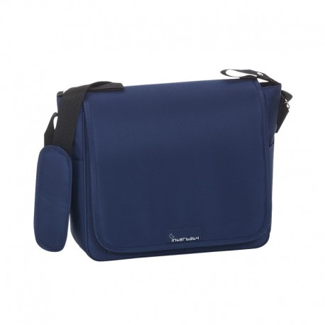 Bolso Microfibra + Cambiador Azul-Interbaby