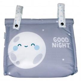 Talega Impermeable Mibebestore-Modelo Good night azul